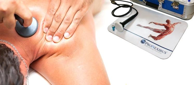 pronexibus, terapia del dolore, post operatoria, è molto più potente ed efficace di una normale Tecar.